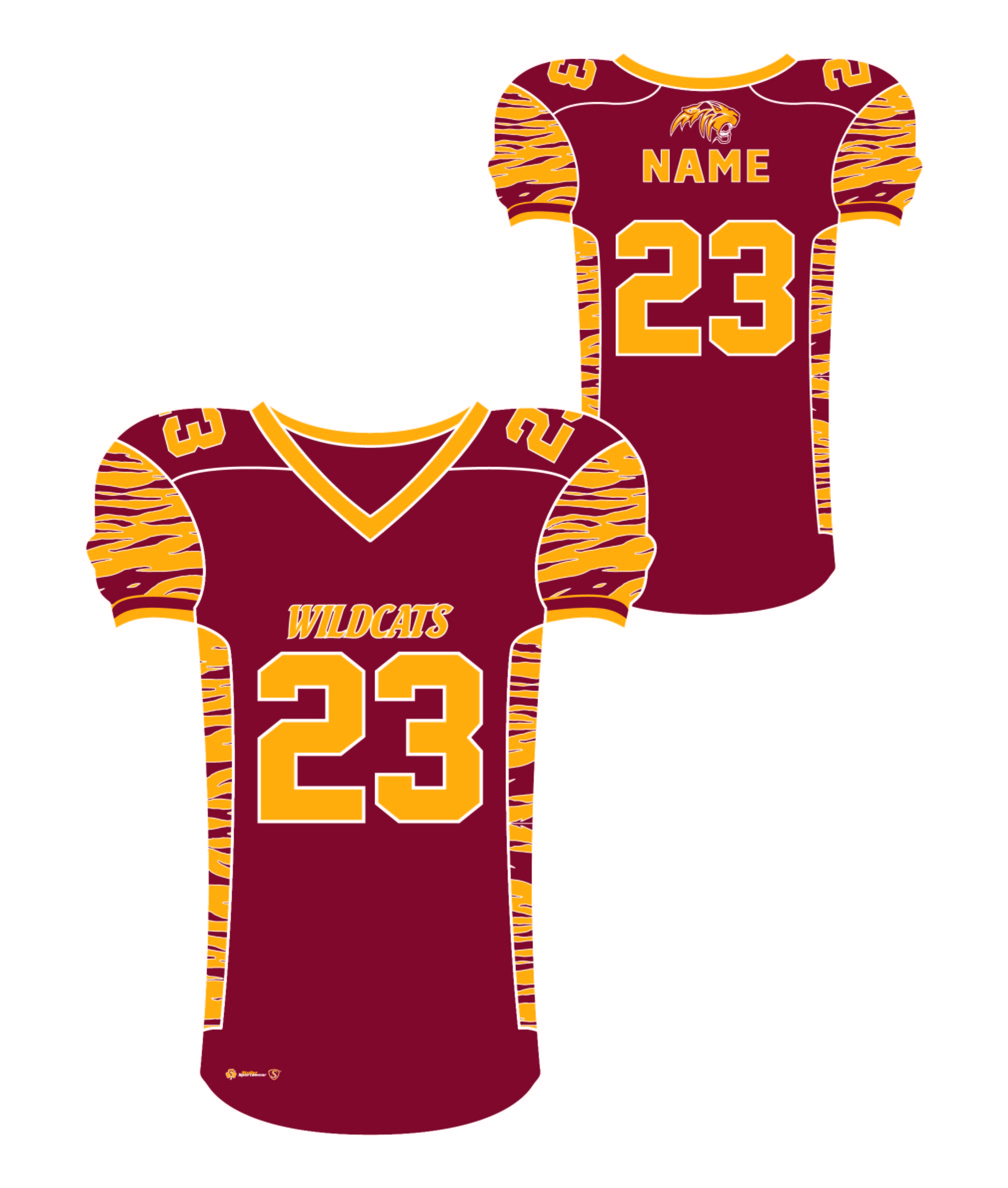 Sublimated Jersey - Weymouth Maroon
