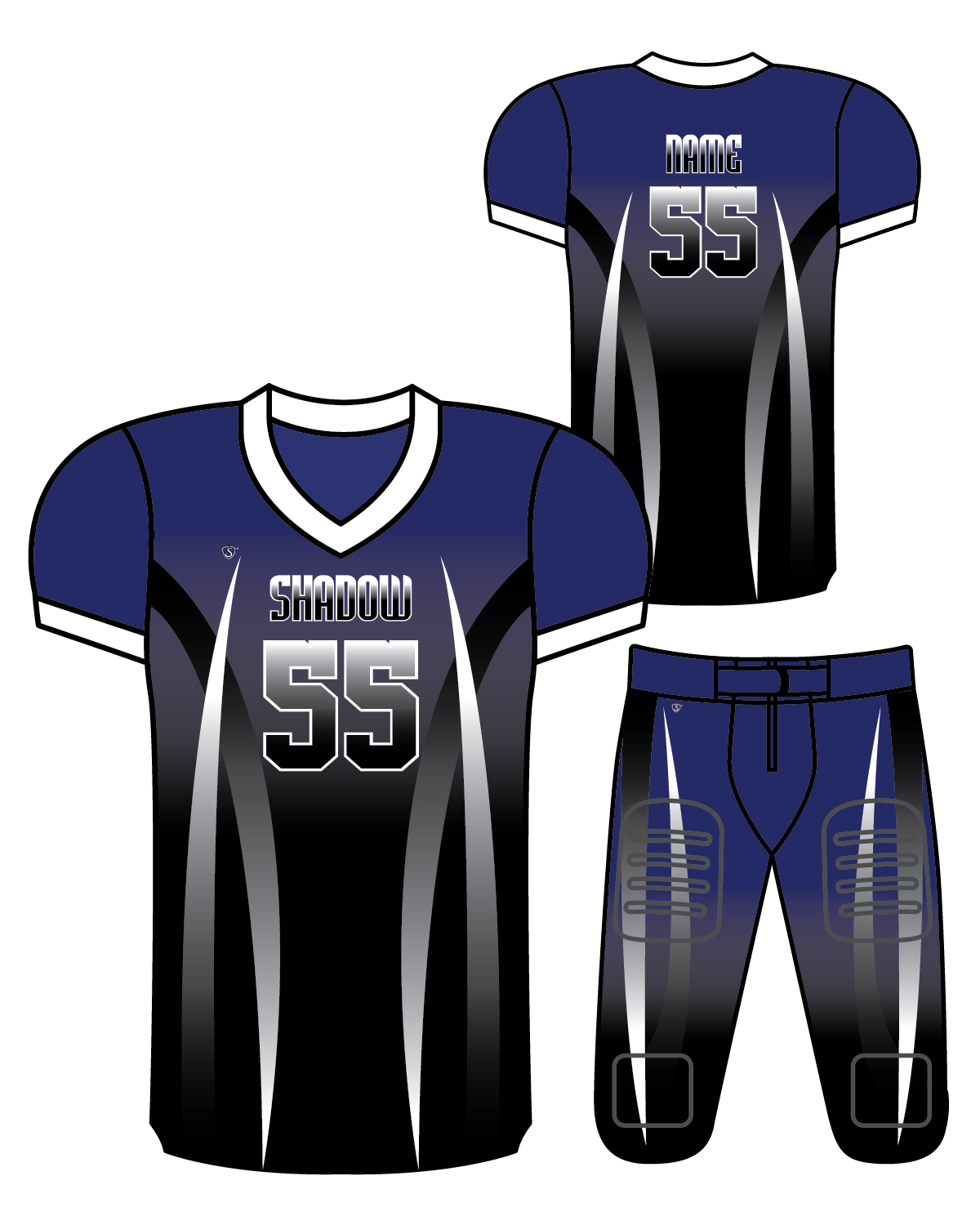 Sublimated Jersey - Shadow