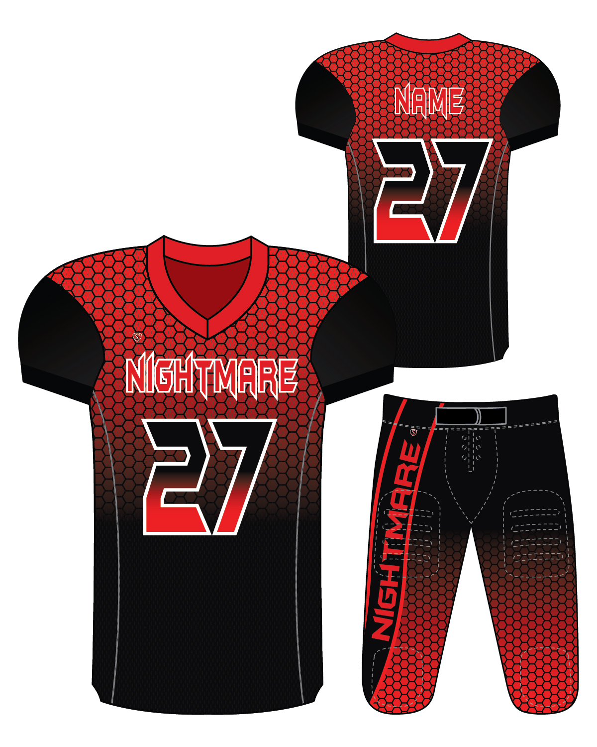 Sublimated Jersey - Nightmare