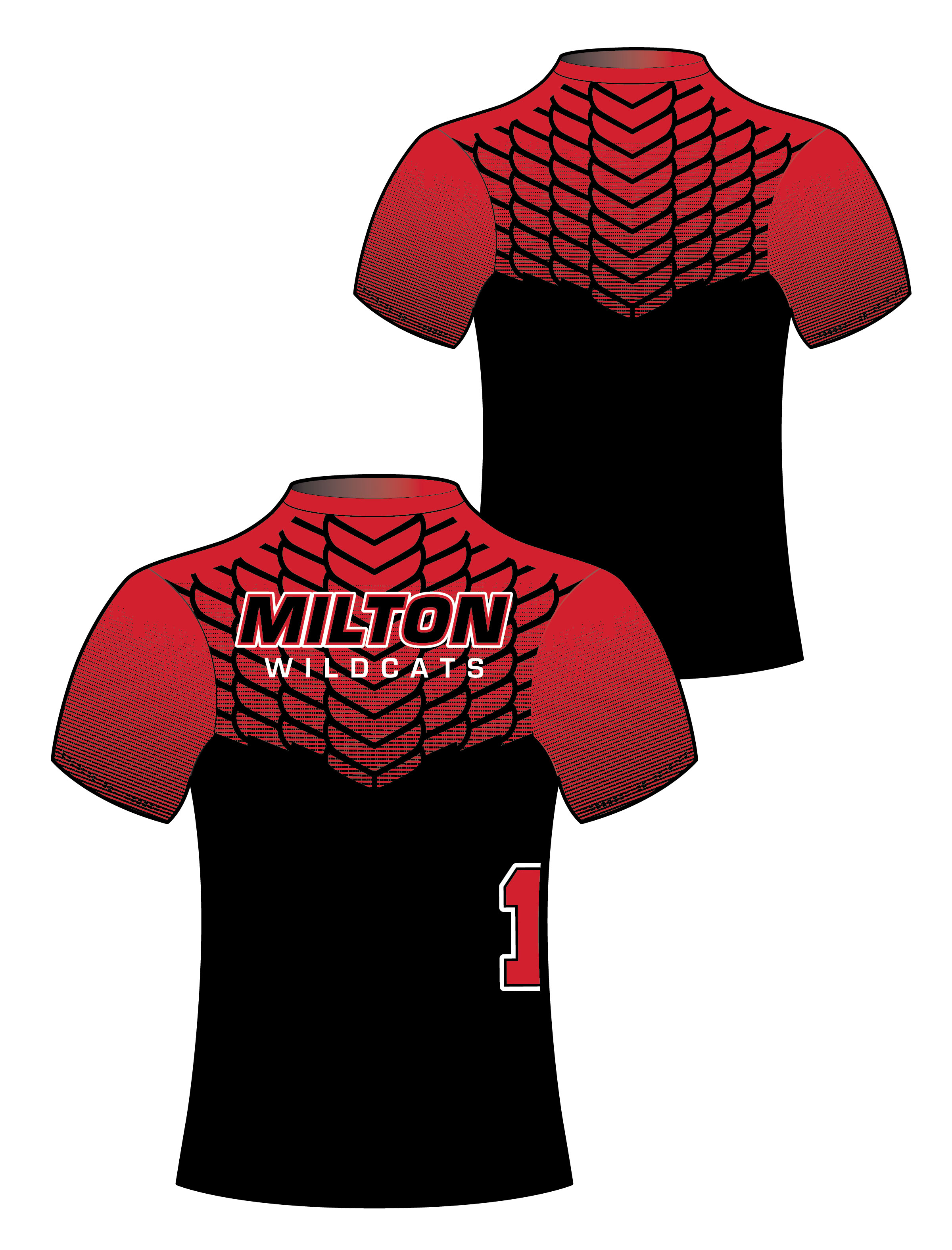 Custom Sublimated Compression Shirt - Milton