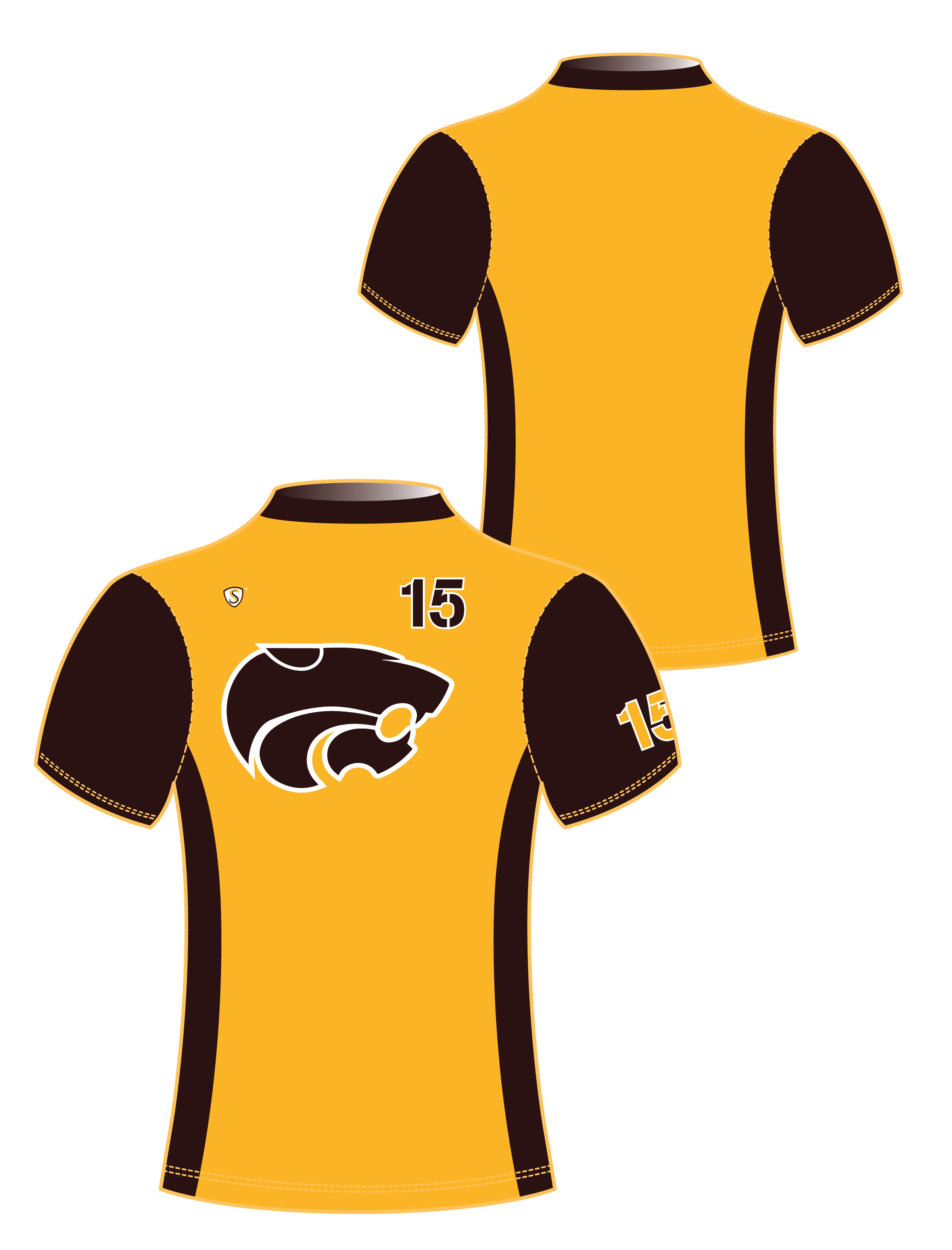 Custom Sublimated Compression Shirt - Wildcats 1